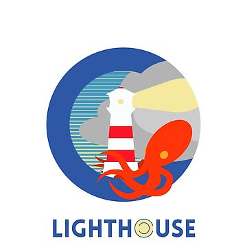 Lighthouse Attacked by Squid! by Mermaid-Margo