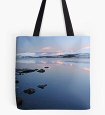 Loch tulla sunrise Tote Bag