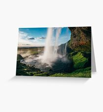 Seljalandsfoss, Iceland Greeting Card
