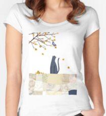 4 Season Series - Winter Women's Fitted Scoop T-Shirt