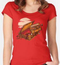 Dead Man Walkmann Women's Fitted Scoop T-Shirt