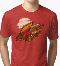 Dead Man Walkmann Tri-blend T-Shirt