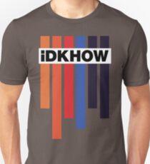 iDKHOW Colour Bars w/ Logo Unisex T-Shirt