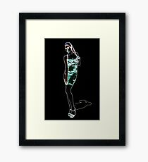 High Fashion Girl Fine Art Print Framed Print