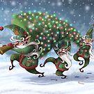 Christmas card  by Tom Bradnam