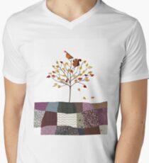 4 Season Series - Autumn Mens V-Neck T-Shirt