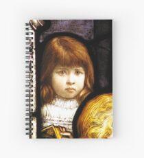 Nancy Hope Shoobridge   1890 - 1898 Spiral Notebook