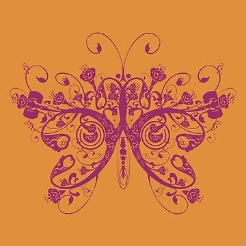 Butterfly by T-ShirtsGifts