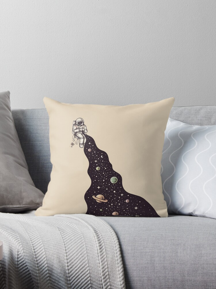 Swell Universe Is Knit Throw Pillow By Buko Theyellowbook Wood Chair Design Ideas Theyellowbookinfo