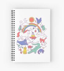 Cuaderno de espiral Unicornios