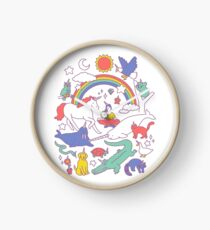 Unicorns! Clock