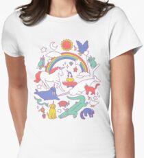 Unicorns! Women's Fitted T-Shirt