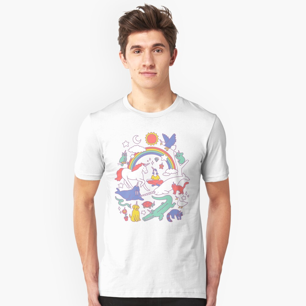 Unicorns! Slim Fit T-Shirt