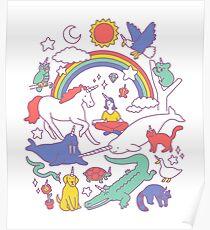 Unicorns! Poster