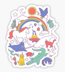 Unicorns! Sticker