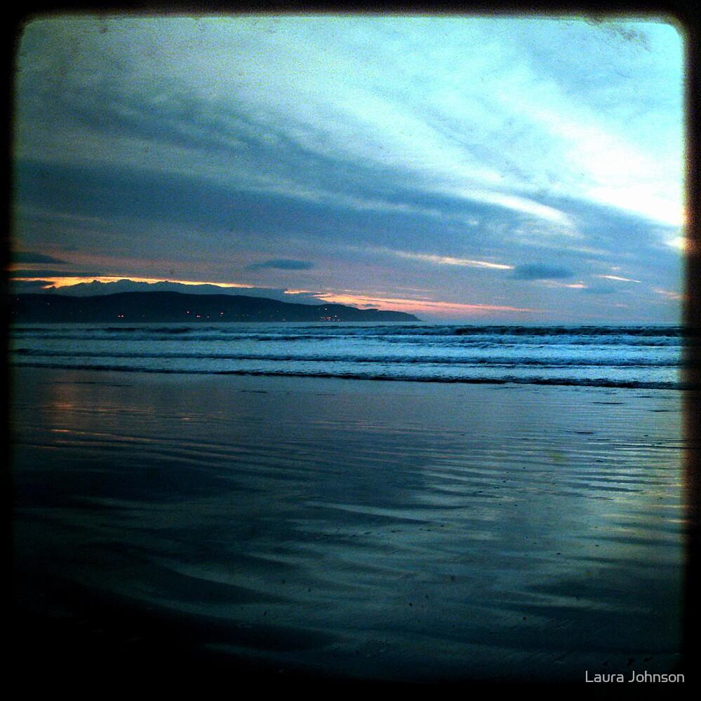 Benone Evening by Laura Johnson