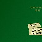 Duncan Quagmire's Commonplace Book by Katherine Grace
