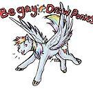 Be Gay Draw Ponies by Azkre