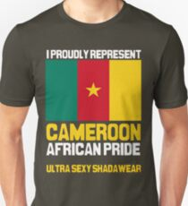 Cameroon, represent proudly Unisex T-Shirt