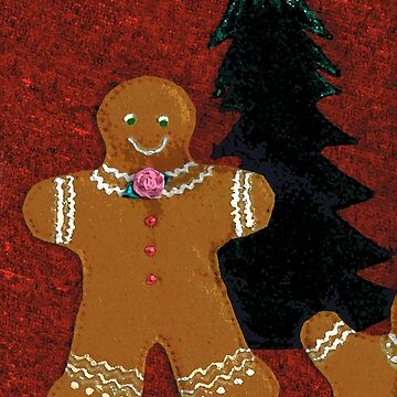 Christmas Gingerbread Man Cookie by MelissaB
