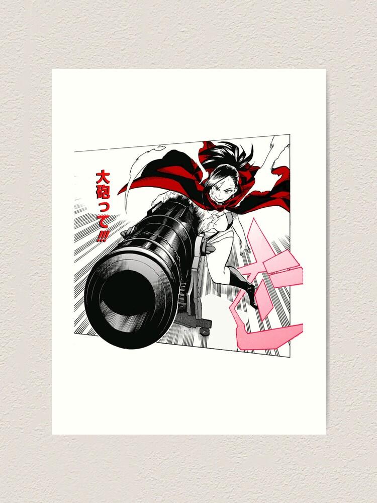 Momo Yaoyorozu Art Print