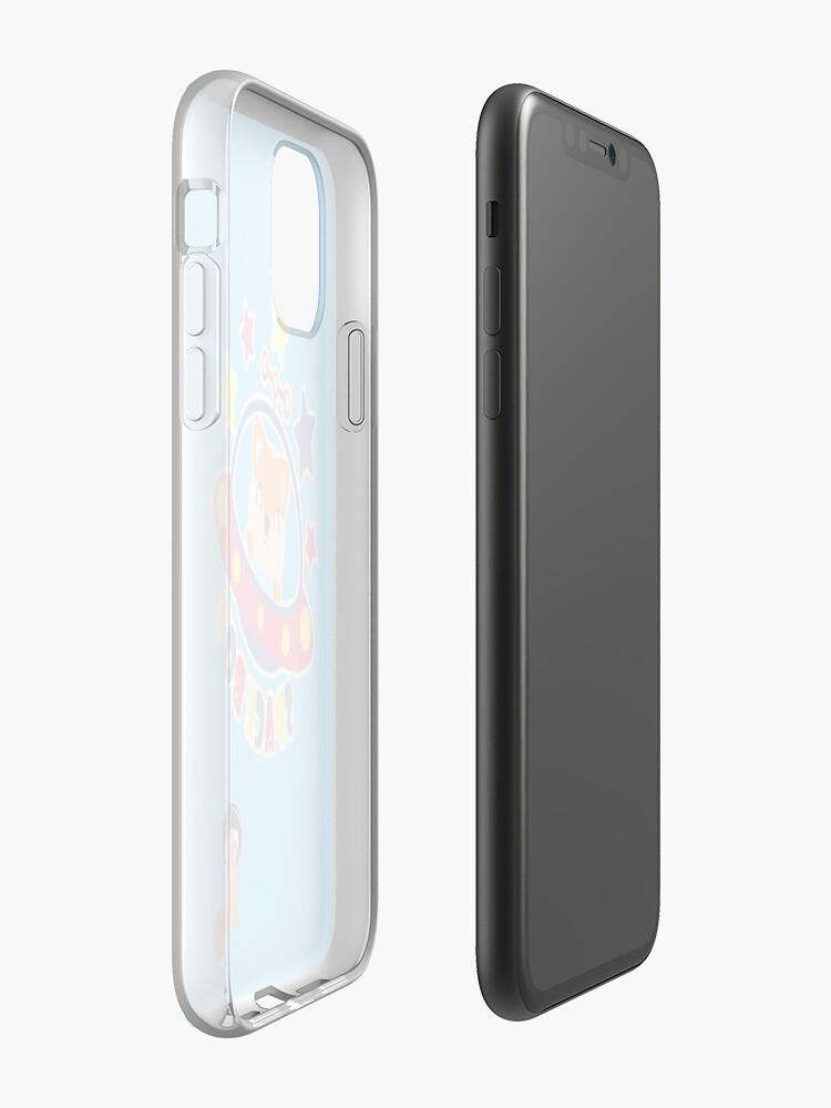 Coque iPhone «Téléphone Sapce», par Whitefrank