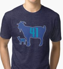 The GOAT - City Edition Dirk Nowitzki and Luka Doncic Tri-blend T-Shirt 890fd7317