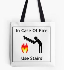 Use the stairs Tote Bag