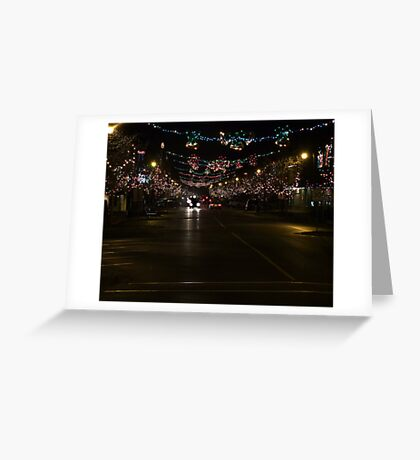 Ladysmith Lights Up! Greeting Card