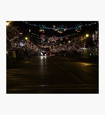 Ladysmith Lights Up! Photographic Print