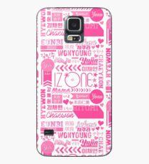 IZ * ONE Collage Hülle & Klebefolie für Samsung Galaxy
