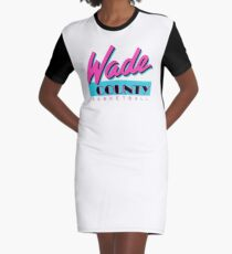 Wade County Basketball T-Shirt Kleid