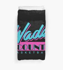 Wade County Basketball - Nights Duvet Cover