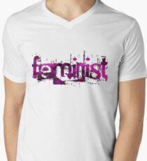 Feminist Men's V-Neck T-Shirt
