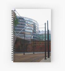 Tram lines Spiral Notebook