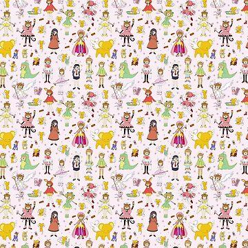 ¡El Cardcaptor más lindo! Cardcaptor Sakura Doodle de KiraKiraDoodles