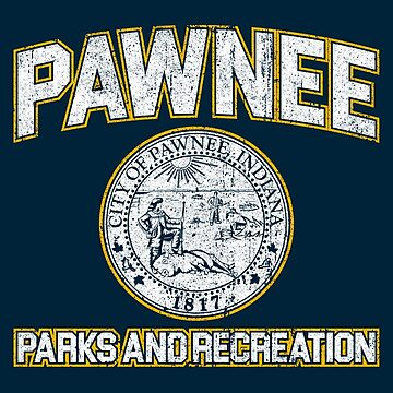 Pawnee Parks and Recreation by huckblade