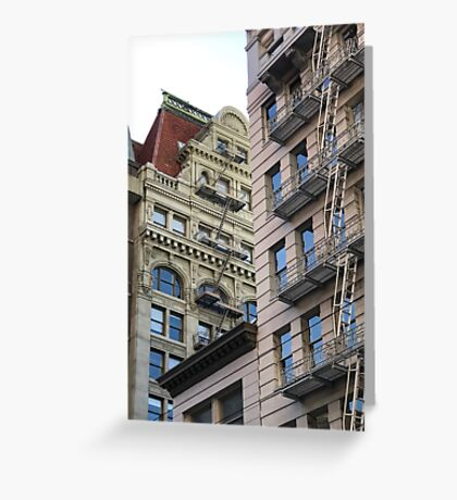 Downtown San Francisco, California Greeting Card