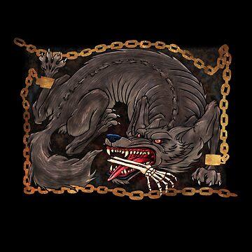 Ragnarok - Fenrir by RoguePlanets