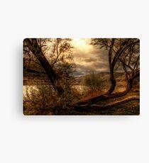 Sneak a Peek at the Snake River  Canvas Print
