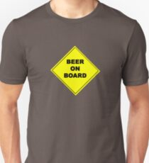 beer on board Unisex T-Shirt