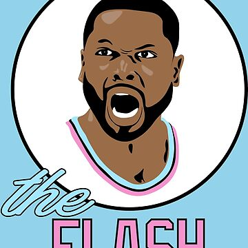 """Dwyane """"FLASH"""" Wade by RatTrapTees"""