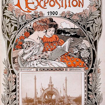 Le Livre D'Or de L'Exposition 1900 (The Gold Book of the 1900 Exhibition) by douglasewelch