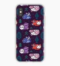 Faire isle owls_2 iPhone Case
