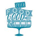 Good Food Good Mood // blau von Sarah  Deters