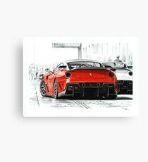 Ferrari 599GTB XX Canvas Print