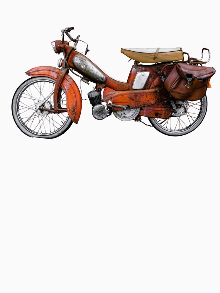Vintage Französisch Motobecane Moped von mrdoomits