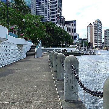 The River Walk by kllebou