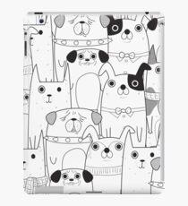 Cute Dogs Pattern iPad-Hülle & Klebefolie