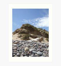 Scottish beach Art Print